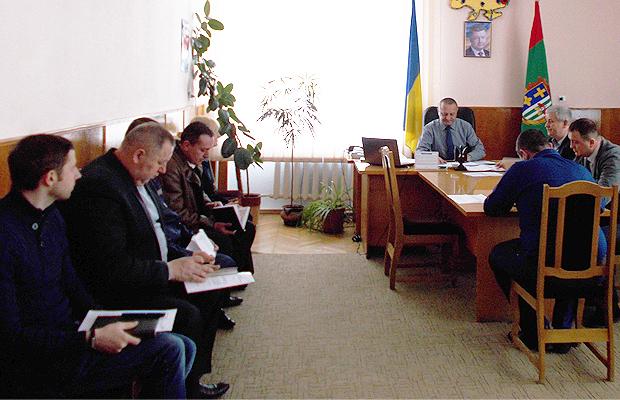 Відбулось позачергове засідання районної комісії з питань ТЕБ та НС