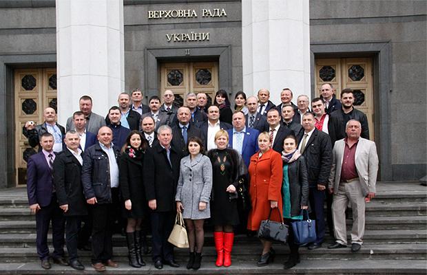 Делегація асоціації сільських голів відвідала Верховну Раду