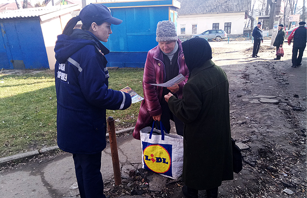 Рятувальники проводять масово-профілактичну роботу