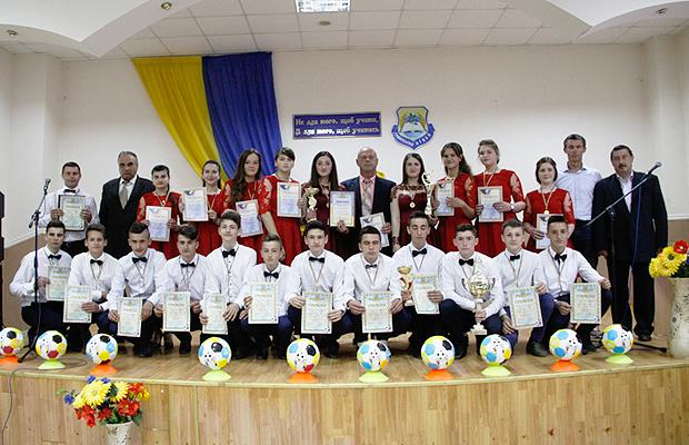 Вшанування юних спортсменів Глибоччини