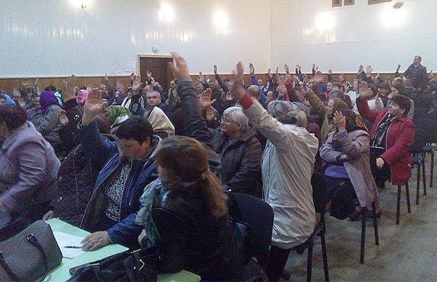 В Черепківцях вперше в області пройшли слухання по дооб'єднанню до Глибоцької громади