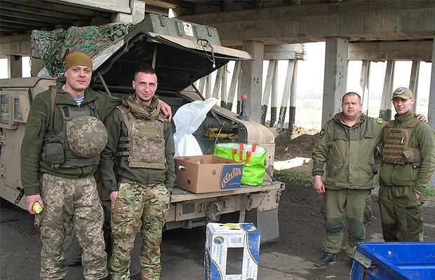Волонтери черговий раз відправили допомогу у зону АТО