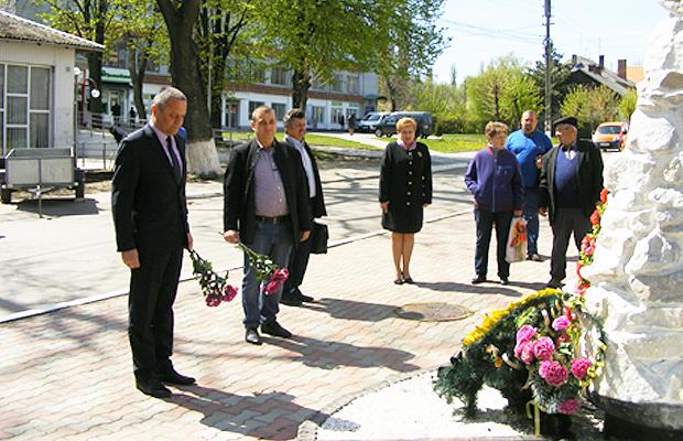 На Глибоччині вшанували пам'ять ліквідаторів аварії на ЧАЕС