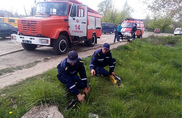 В Глибоці горіла заправка. 5 осіб загинуло, 5 травмовано. Усі служби району вчилися, як діяти в такій ситуації