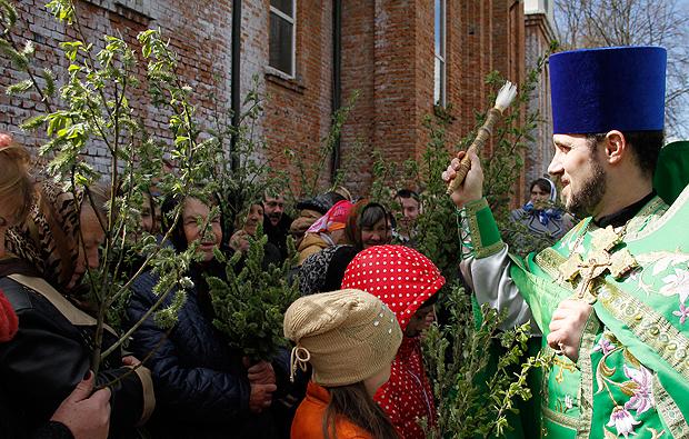 Християни святкують Вербну неділю