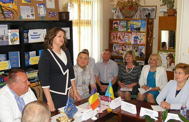 «Кава з консулом». Зустріч у рамках відзначення Дня Европи в Україні.