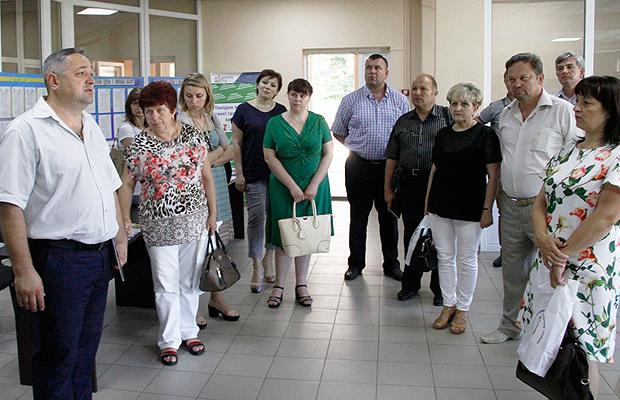 До Глибоцької ОТГ завітали представники місцевого самоврядування з Прикарпаття