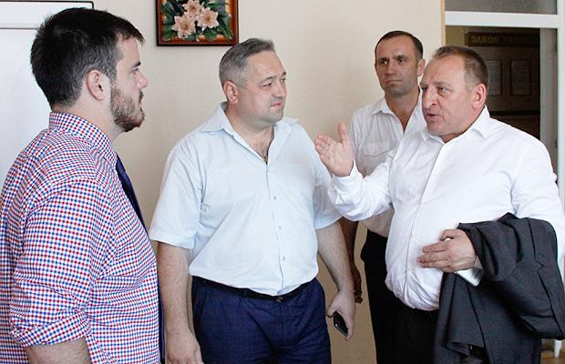 Керівництво району провело робочу зустріч щодо добудови Йорданештської школи