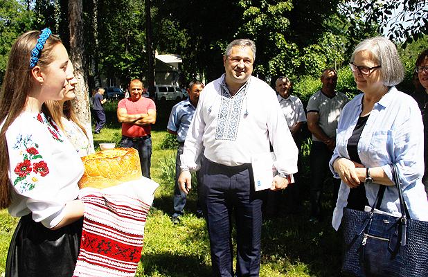 Глибоцьку ОТГ відвідала посол Австрії