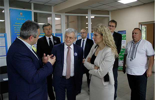Глибоку відвідав Надзвичайний і Повноважний Посол Республіки Польща в Україні