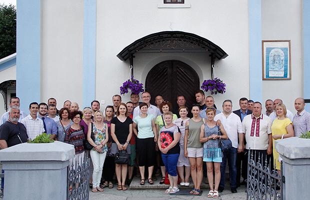 Депути та працівники міста Нароль (Польща) побували на гостинах у Глибоцькому районі
