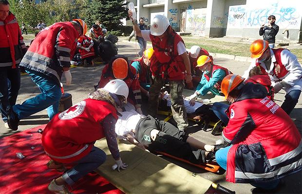 Глибоцькі рятувальники нагадують правила надання домедичної допомоги потерпілому на пожежі