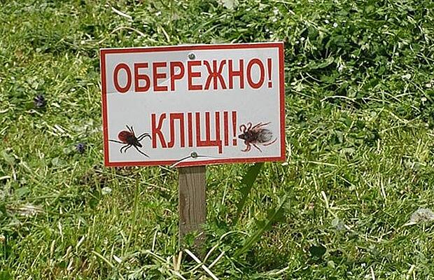 Кліщі атакують, будьте обережні