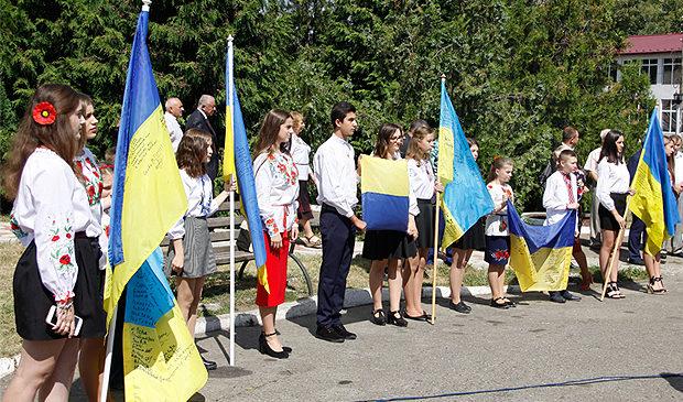 Відзначення Дня Державного Прапора України у Глибоці