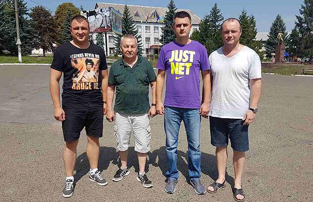 Глибоччину відвідав тренер національної збірної з боксу Ільдар Шарафутдінов