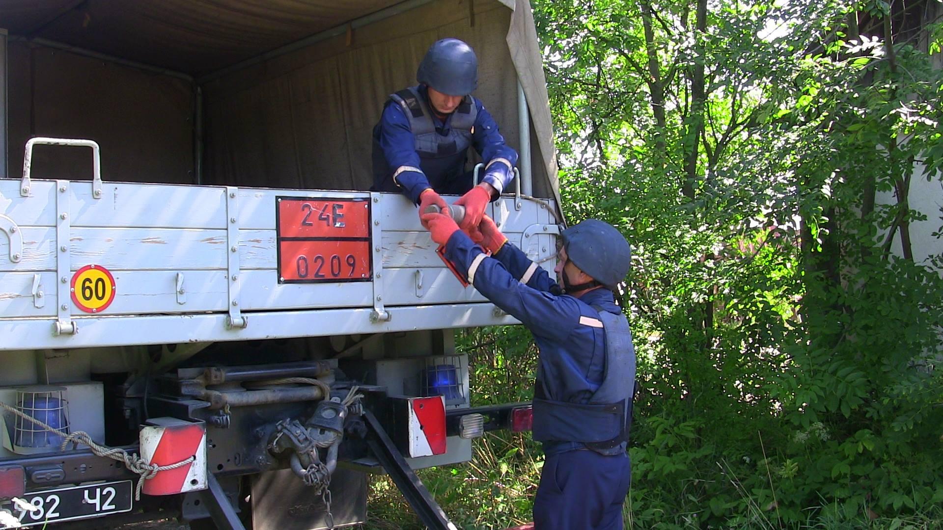 В Черепківці піротехніки знешкодили снаряд часів І Світової війни