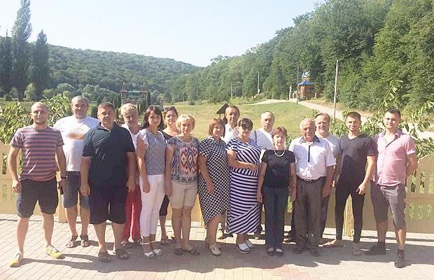 На Хмельниччині відбувся освітянський форум за участі делегації з Глибоцької ОТГ