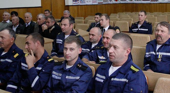 У Глибоці відбулися урочистості з нагоди святкування Дня працівника цивільного захисту України
