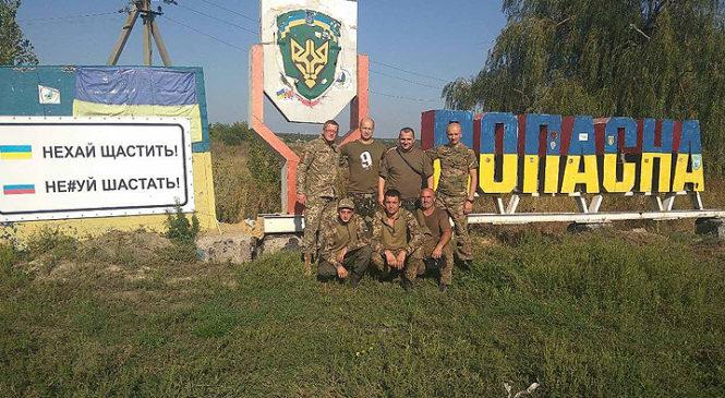 Волонтери ГФ «Козацька варта» повернулись з передової