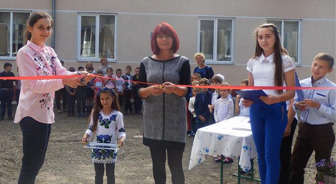 У Михайлівському НВК відбулось урочисте відкриття шкільного майданчика