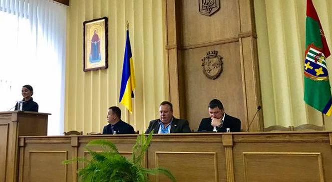 Відбулася чергова XVIII сесія Глибоцької районної ради