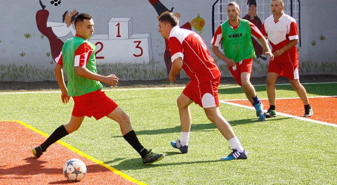 Відбувся матч з міні-футболу серед команд органів та підрозділів ГУНП в Чернівецькій області