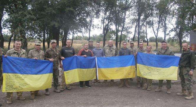 Волонтери при районній раді в черговий раз відправили допомогу військовим у зону проведення АТО