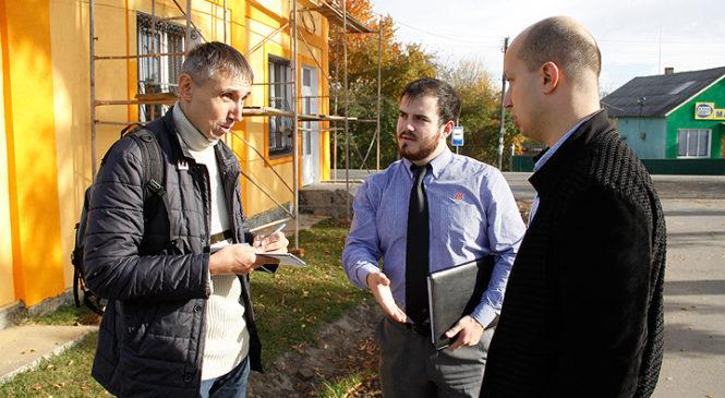 Глибоцьку ОТГ відвідали гості з Києва та Луганської області