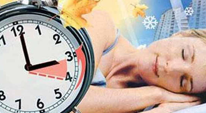 Коли Україна переводить годинник на зимовий час у 2017 році