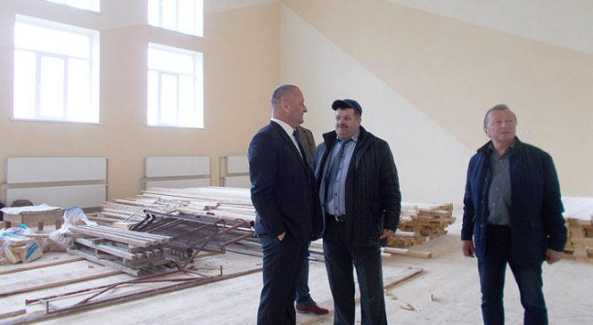 Будівництво Йорданештської школи на завершальному етапі