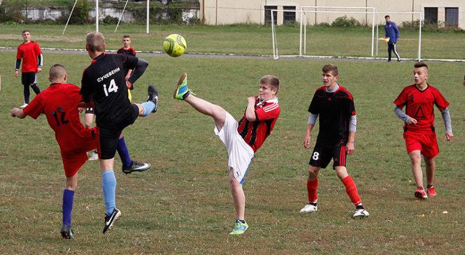 Відбувся фінал спартакіади школярів з футболу Глибоцького району