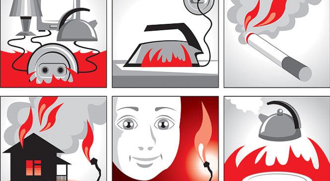 Рятувальники розповідають про головні причини виникнення пожеж