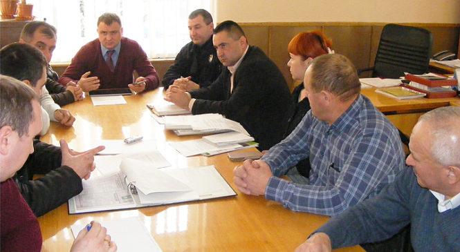 Перший заступник голови Глибоцької РДА провів засідання конкурсного комітету