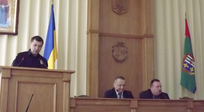 Голова Глибоцької райдержадміністрації провів розширену нараду