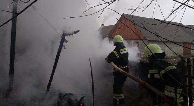 Пожежа у селі Йорданешти знищила будівлю та господарську техніку