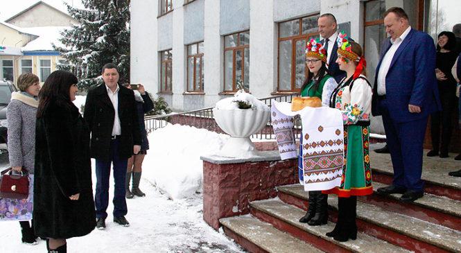Перебування делегації Добропільської районної ради в Глибоцькому районі