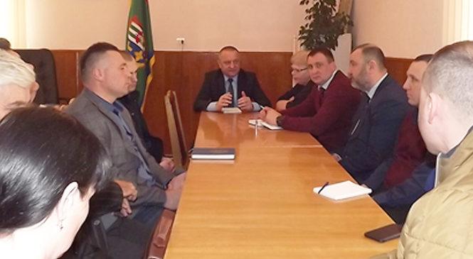В РДА розбирали конфлікту ситуацію навколо генплану села Коровія