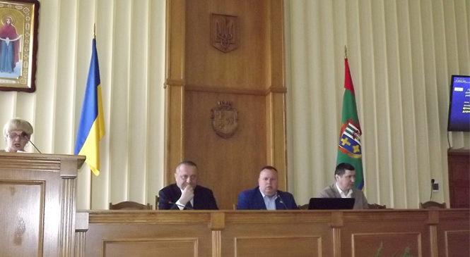 Відбулося позачергове засідання сесії Глибоцької районної ради