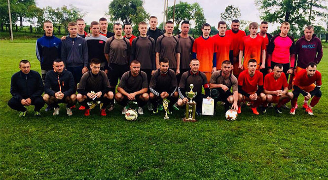 Традиційний футбольний турнір пам'яті загиблих спортсменів  ФК «Ст.Вовчинець»