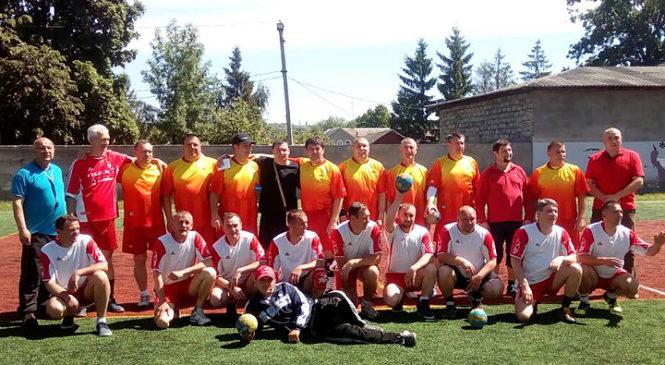 У Глибоці відбувся гандбольний турнір серед ветеранів