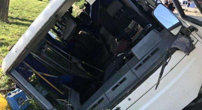 У Коровії перекинувся рейсовий автобус сполученням Чернівці-Глибока