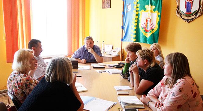 Голова Глибоцької ОТГ провів засідання оргкомітету