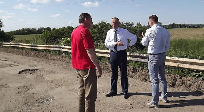 Голова райдержадміністрації відвідав село Петричанка