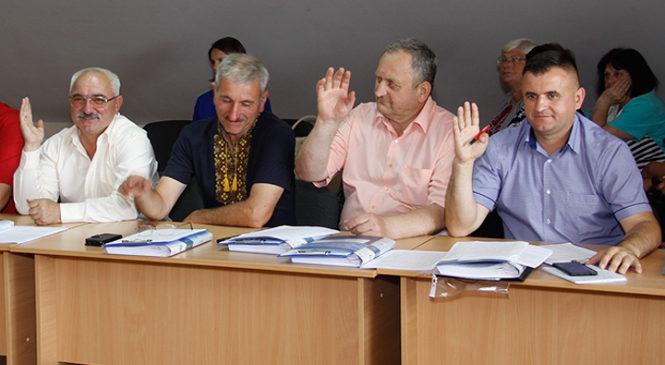 Відбулась 37 сесія Глибоцької селищної ради VII скликання