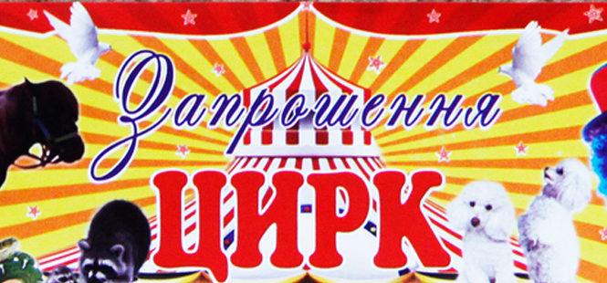 """Вперше у Глибоці і тільки один день Цирк-шапіто """"Аполлон"""" з програмою """"У світі тварин"""""""