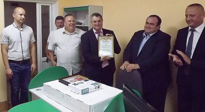 Урочисто відкрили оновлений відділ обслуговування громадян (сервісний центр) управління пенсійного фонду