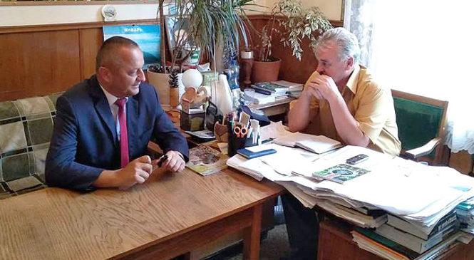 Голова райдержадміністрації відвідав Глибоцький держлісгосп АПК