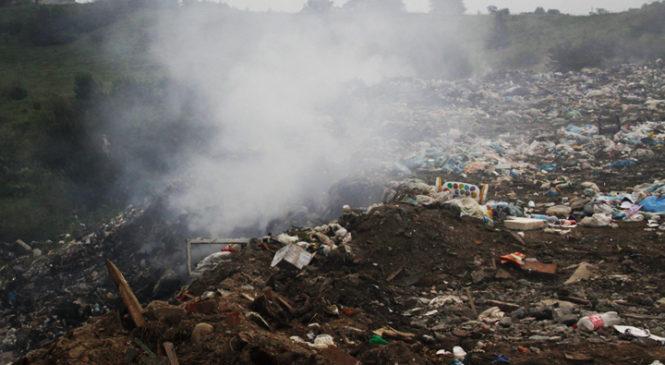 Здійснено підпал на Глибоцькому сміттєзвалищі