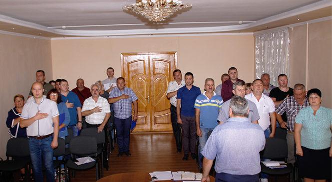 Відбулася 43 сесія Глибоцької селищної ради VII скликання
