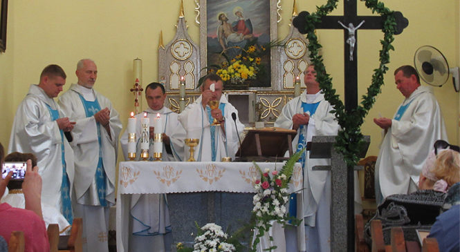 Римо-католицька парафія «Матері Божої страждальної» у Глибоці відзначила храмове свято